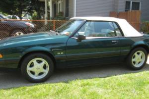 1991 Ford Mustang LX CONVERTIBLE 31K mi 5 speed