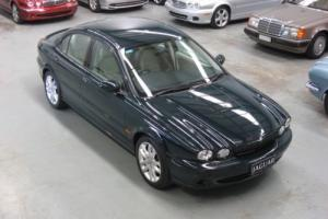 2002 Jaguar X-Type 2.5L AWD Manual Sport