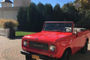 1969 International Harvester Scout