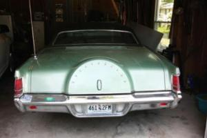 1971 Lincoln Continental Mark III for Sale