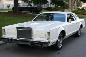 1978 Lincoln Mark Series MARK V - SURVIVOR - 42K MILES