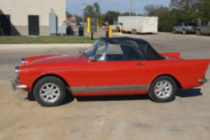 1963 Other Makes Sunbeam Alpine alpine