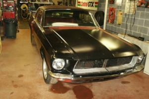 1968 Ford Mustang notch back coupe