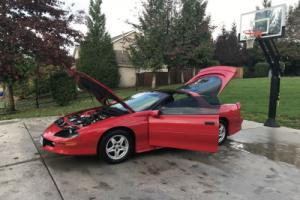 1997 Chevrolet Camaro Red T-Tops Low Miles Only 60,818 Miles