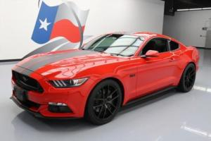 2015 Ford Mustang GT FASTBACK 5.0 6SPD REAR CAM 20'S