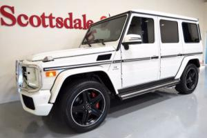 2013 Mercedes-Benz G-Class ONLY 15K MILES, WHITE on WHITE, FULLY OPTIONS, AS