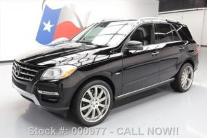 2012 Mercedes-Benz M-Class ML350 AWD SUNROOF NAV 22'S