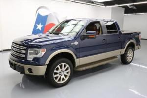 2013 Ford F-150 KING RANCH CREW 4X4 5.0 SUNROOF NAV