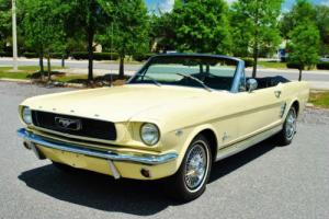 1966 Ford Mustang Convertible 289 V8 Stunning Classic! Drives Great!