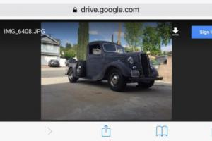 1937 Ford Other Pickups Model 60