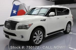 2013 Infiniti QX56 THEATER SUNROOF NAV DVD 22'S