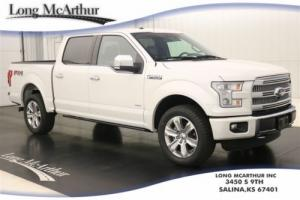 2016 Ford F-150 PLATINUM 4X4 SUPERCREW NAV SUNROOF MSRP $63225