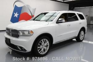 2014 Dodge Durango CITADEL 7-PASS SUNROOF NAV 20'S