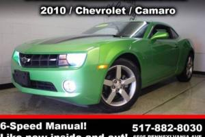 2010 Chevrolet Camaro LT 2dr Coupe w/1LT Coupe 2-Door Manual 6-Speed