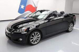 2013 Lexus IS HARD TOP CONVERTIBLE CLIMATE SEATS Photo