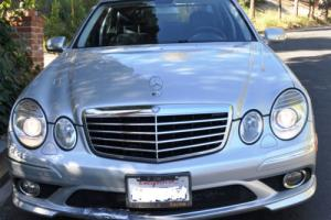 2009 Mercedes-Benz E-Class AMG sport package