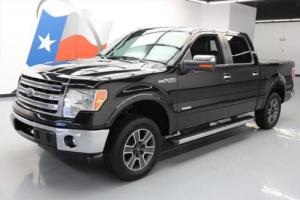 2013 Ford F-150 LARIAT CREW ECOBOOST LEATHER SUNROOF NAV