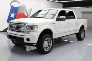 2014 Ford F-150 PLATINUM CREW ECOBOOST LIFTED NAV
