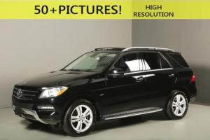 2012 Mercedes-Benz M-Class 2012 ML350 4MATIC AWD NAV SUNROOF LEATHER BLINDSPT