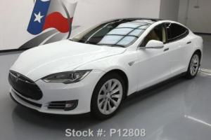 2013 Tesla Model S TECH PANO SUNROOF NAV REAR CAM Photo