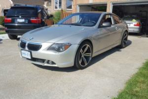 2005 BMW 6-Series Sports Package