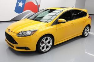 2013 Ford Focus ST 6-SPEED RECARO SUNROOF NAV