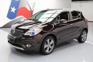 2014 Buick Encore LEATHER HEATED SEATS REAR CAM
