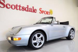 1995 Porsche 911 6SP MANUAL w ONLY 27K MILES, TURBO TWIST WHLS, AS