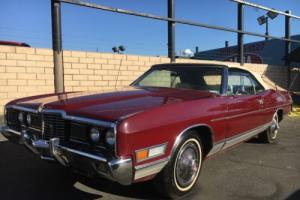 1972 FORD LTD CONVERTIBLE 429 V8 POWER WINDOWS / SEATS / LOCKS BEAUTIFUL CAR !!!