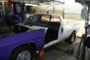 HQ UTE GTS CHEV TUBBED UNFINISHED PROJECT SANDMAN