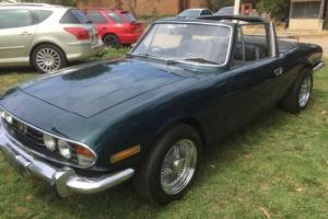 Triumph Stag CUSTOM, restored with upgraded mechanics