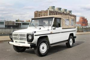 1983 Mercedes-Benz G-Class 1983 Mercedes-Benz 280GE Photo