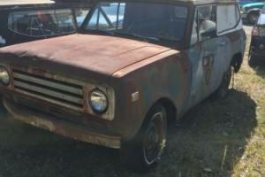1972 International Harvester Scout