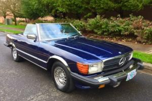 1976 Mercedes-Benz SL-Class BARN-FIND LOW MILES ROADSTER ALWAYS GARAGED