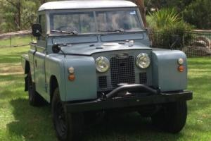 1963 Land Rover Defender SERIES IIa