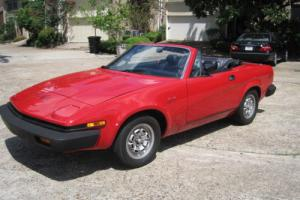 1980 Triumph Other TR Photo