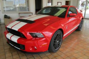 2013 Ford Mustang Shelby GT 500 SVT Track and Performance PKG.