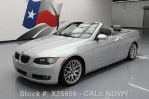 2009 BMW 3-Series 328I HARD TOP CONVERTIBLE SPORT HTD SEATS