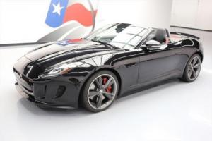 2014 Jaguar F-Type S CONVERTIBLE NAV REAR CAM 20'S