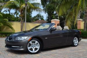 2011 BMW 3-Series 335i Convertible W/Premium  Package and Navigation