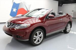 2011 Nissan Murano CONVERTIBLE AWD HTD LEATHER NAV