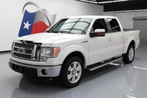2012 Ford F-150 LARIAT CREW 5.0 CLIMATE LEATHER 20'S