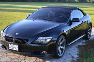 2008 BMW 6-Series 650i 2dr Convertible