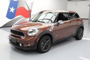 2014 Mini Cooper S COOPER  S ALL4 AWD PANO SUNROOF