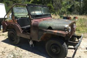 RARE WILLYS JEEP CJ5 1955 MODEL  LOVELY ORIGINAL CONDITION FOR RESTORATION .RARE