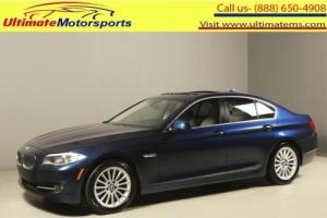 2013 BMW 5-Series 2013 535i NAV SUNROOF HUD SPORT PREMIUM 48K MLS