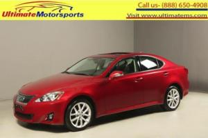 2012 Lexus IS 2012 IS250 AWD SUNROF LEATHER HEATCOOLSEAT 33K MLS