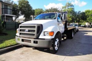 2004 Ford F650 FLATBED/STEAKBED