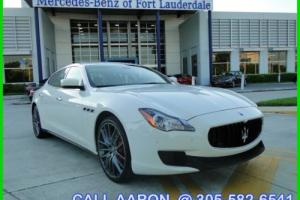 2014 Maserati Quattroporte WE SHIP, WE EXPORT, WE FINANCE