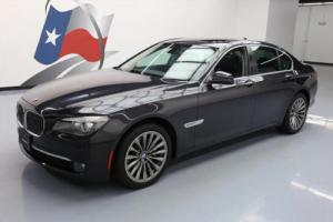 2012 BMW 7-Series 740I CLIMATE LEATHER SUNROOF NAV REAR CAM